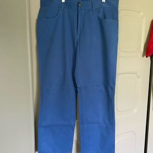 John Bartlett men's leisure khaki pants flat front